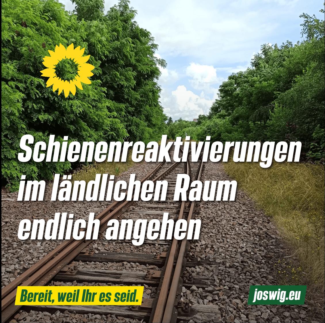 Die Hunsrückquerbahn muss endlich reaktiviert werden!