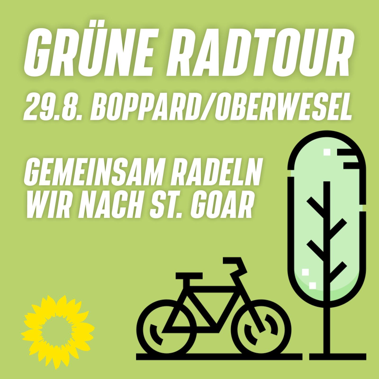 Grüne Radtour am Mittelrhein